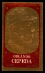 1965 Topps Embossed #45   Orlando Cepeda   Front Thumbnail