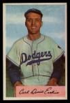 1954 Bowman #10  Carl Erskine  Front Thumbnail