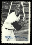 1969 Topps Deckle Edge #31   Willie McCovey Front Thumbnail