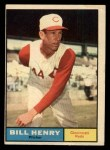 1961 Topps #66   Bill Henry Front Thumbnail