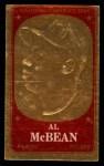 1965 Topps Embossed #14    Al McBean  Front Thumbnail