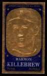1965 Topps Embossed #56   Harmon Killebrew   Front Thumbnail
