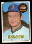 1969 Topps #631   John Kennedy Front Thumbnail