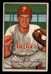 1952 Bowman #200   Ken Silvestri Front Thumbnail