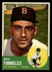 1963 Topps #28 COR  Mike Fornieles Front Thumbnail