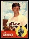 1963 Topps #338  Russ Kemmerer  Front Thumbnail