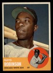 1963 Topps #405  Floyd Robinson  Front Thumbnail