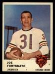 1961 Fleer #8   Joe Fortunato Front Thumbnail