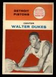 1961 Fleer #11   Walter Dukes Front Thumbnail