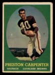 1958 Topps #128  Preston Carpenter  Front Thumbnail