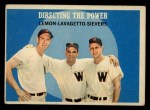 1959 Topps #74   -  Jim Lemon / Roy Sievers / Cookie Lavagetto Directing The Power Front Thumbnail