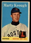 1958 Topps #371   Marty Keough Front Thumbnail
