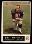 1965 Philadelphia #120   Joe Morrison  Front Thumbnail