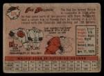 1958 Topps #328   Ike Delock Back Thumbnail