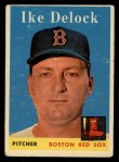 1958 Topps #328   Ike Delock Front Thumbnail