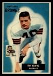 1955 Bowman #153   Ray Renfro Front Thumbnail