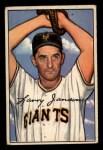 1952 Bowman #90   Larry Jansen Front Thumbnail
