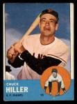 1963 Topps #185 COR Chuck Hiller  Front Thumbnail