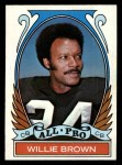 1972 Topps #285  All-Pro  -  Willie Brown Front Thumbnail