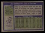 1972 Topps #298   Jim Bakken Back Thumbnail