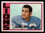 1972 Topps #302   Mike Lucci Front Thumbnail