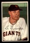 1952 Bowman #146   Leo Durocher Front Thumbnail