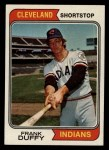 1974 Topps #81   Frank Duffy Front Thumbnail
