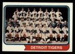 1974 Topps #94   Tigers Team Front Thumbnail