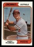 1974 Topps #34   Andy Kosco Front Thumbnail