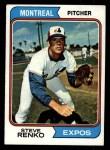 1974 Topps #49   Steve Renko Front Thumbnail