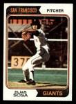 1974 Topps #54   Elias Sosa Front Thumbnail