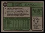 1974 Topps #98   Bert Blyleven Back Thumbnail
