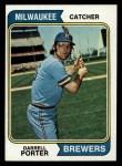 1974 Topps #194   Darrell Porter Front Thumbnail
