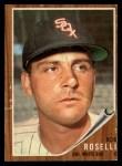1962 Topps #363  Bob Roselli  Front Thumbnail