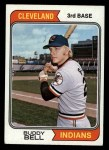 1974 Topps #257  Buddy Bell  Front Thumbnail