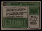 1974 Topps #96   Jerry Hairston Back Thumbnail