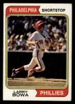 1974 Topps #255  Larry Bowa  Front Thumbnail