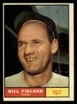 1961 Topps #553   Bill Fischer Front Thumbnail