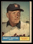 1961 Topps #546   Marty Kutyna Front Thumbnail