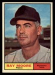 1961 Topps #289  Ray Moore  Front Thumbnail