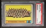 1961 Topps #554  Pirates Team  Front Thumbnail