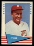 1961 Fleer #14   Ty Cobb Front Thumbnail