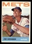 1964 Topps #514  Jim Hickman  Front Thumbnail