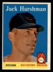 1958 Topps #217   Jack Harshman Front Thumbnail
