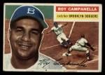 1956 Topps #101   Roy Campanella Front Thumbnail