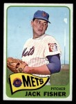 1965 O-Pee-Chee #93  Jack Fisher  Front Thumbnail