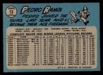 1965 O-Pee-Chee #13  Pedro Ramos  Back Thumbnail