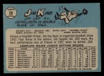1965 O-Pee-Chee #38  Jim King  Back Thumbnail