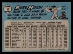 1965 O-Pee-Chee #162   Russ Nixon Back Thumbnail