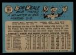 1965 O-Pee-Chee #195  Bob Veale  Back Thumbnail